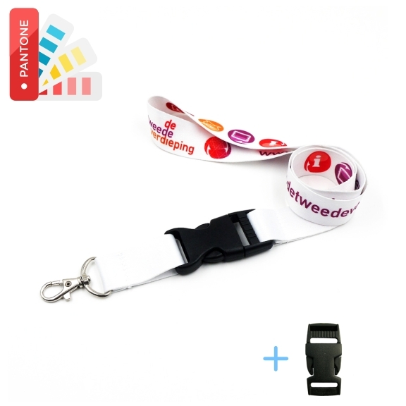 Lanyard Polyester Sublimation mit Schnalle