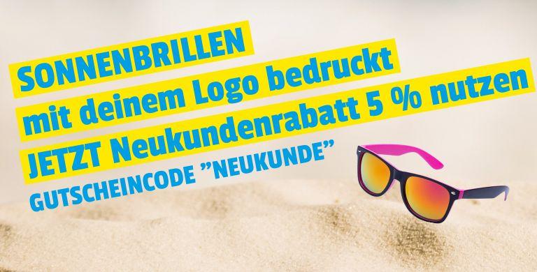Sonnenbrillen mit Logo